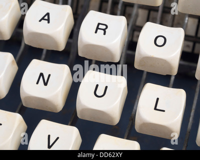 Typewriter keys - Stock Photo