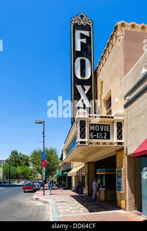 Fox Theater on W Congress Street in downtown Tucson, Arizona, USA - Stock Photo