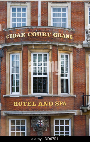 Cedar Court Grand Hotel & Spa in city of York North Yorkshire England UK - Stock Photo