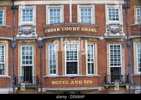 Cedar Court Grand Hotel & Spa in city of York North Yorkshire England UK - Stock Photo