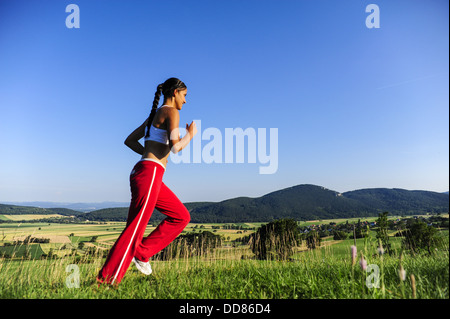 young, pretty woman (model-released) - Stock Photo