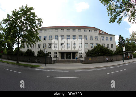 Germany: Faculty of Business Administration and Economics (WFI) of Catholic University of Eichstätt-Ingolstadt in - Stock Photo