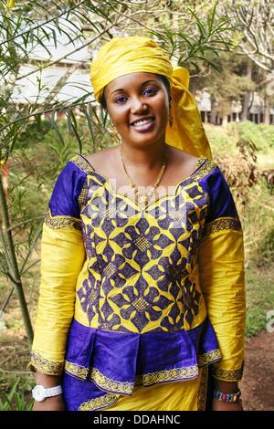 Beautiful young Malian woman - Stock Photo