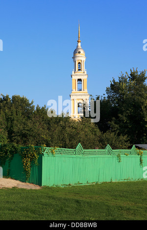 The 19th-century Empire-style Church and Bell-Tower of John The Apostle - Church and Bell-Tower of Apostle Ioanna - Stock Photo