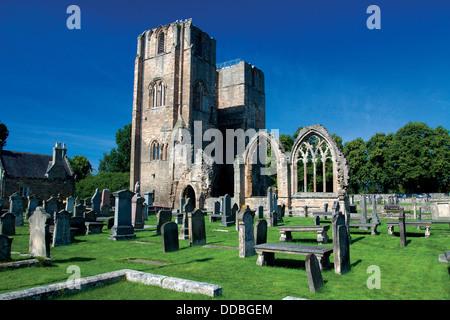 Elgin Cathedral, Elgin, Moray - Stock Photo