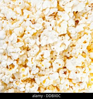 Popcorn background texture - Stock Photo