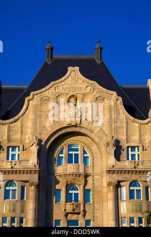 Four Seasons Hotel, Gresham Palace, Budapest, Hungary, Europe - Stock Photo