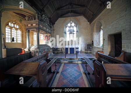 St Andrews Church, Brympton D'Evercy, Odcombe, Near Yeovil, Somerset, South West England, - Stock Photo