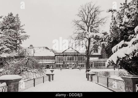 View to the Pavilion Gardens - Stock Photo