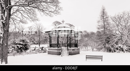 Empty bandstand - Stock Photo