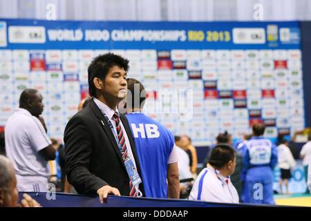 Rio de Janeiro, Brazil. 30th Aug, 2013.Kosei Inoue (JPN), AUGUST 30, 2013 - Judo : 2013 Judo World Championships - Stock Photo