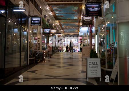 Piccadilly Arcade, Birmingham, UK - Stock Photo