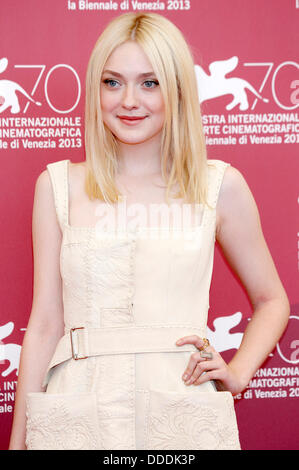 Dakota Fanning during the 'Night Moves' photocall at the 70th Venice International Film Festival. August 31, 2013 - Stock Photo