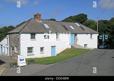 Melin Tregwynt woollen mill, nr Abermawr, Pembrokeshire, Wales, Great Britain, United Kingdom, UK, Europe - Stock Photo