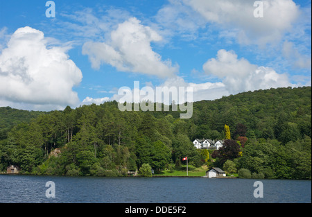Blakeholme Wray, AKA Fisher's House, overlooking Lake Windermere, Lake District National Park, Cumbria UK - Stock Photo