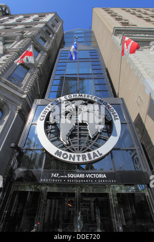Canada, Quebec, Montreal, Centre de Commerce Mondial, World Trade Centre, - Stock Photo