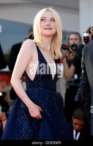 Dakota Fanning attending the 'Night Moves' premiere at the 70th Venice International Film Festival. August 31, 2013 - Stock Photo