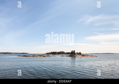 Summery view of Baltic Sea - Stock Photo