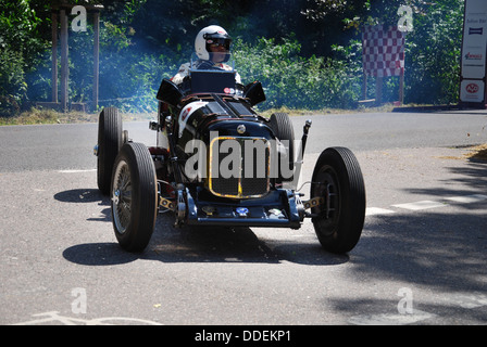 MG racer at Classic Days 2013 at Dyck Castle near Düsseldorf, North Rhine Westphalia, Germany, Europe - Stock Photo