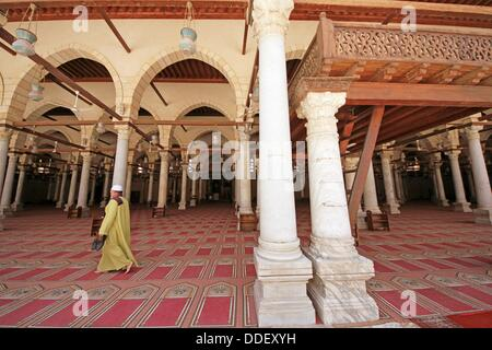 Amr Ibn Al-als mosque, City of Cairo, Egypt - Stock Photo