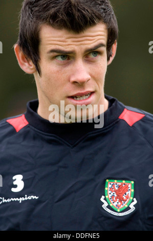 .Gareth Bale, the Welsh footballer pictured in 2009. - Stock Photo