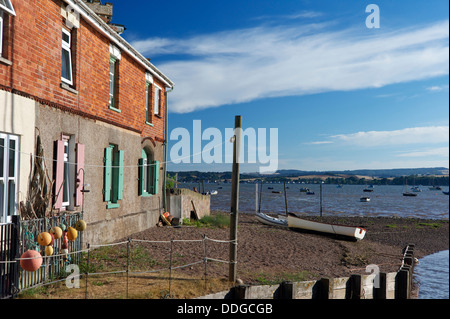 Lympstone Harbour, Exe Estuary, Devon, UK - Stock Photo