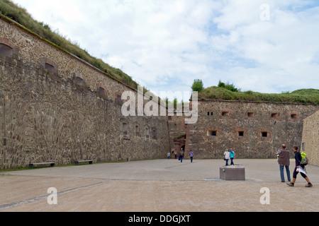 Fortress Ehrenbreitstein in Koblenz, Germany - Stock Photo