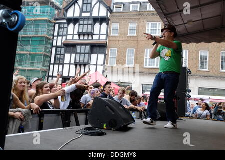 London, UK. 01st Sep, 2013. David Rodigan wows the crowds at Kingston Carnival 2013 © Trish Gant/Alamy Live News - Stock Photo