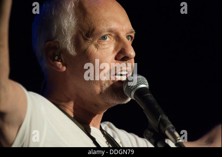 LINCOLN, CA - August 30: Peter Frampton performs in support of his Frampton's Guitar Circus tour at Thunder Valley - Stock Photo