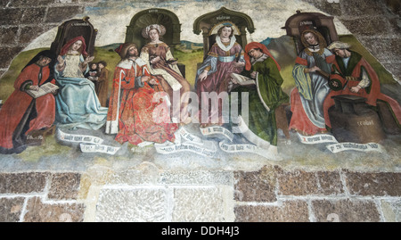 ... Wall Mural Inside The Romanesque Cathedral Of Notre Dame In The Old  Town Part Of Part 93