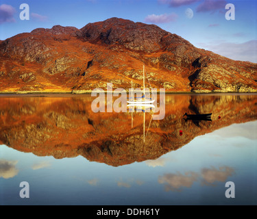 GB - SCOTLAND: Loch Ailort in the Highlands - Stock Photo