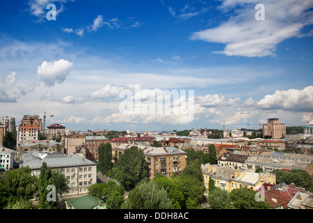 Kyiv center cityscape - Stock Photo
