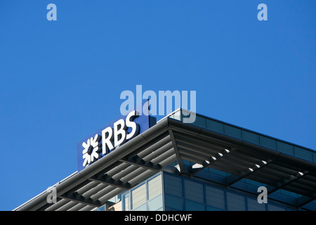 An office building occupied by Royal Bank of Scotland (RBS).  - Stock Photo