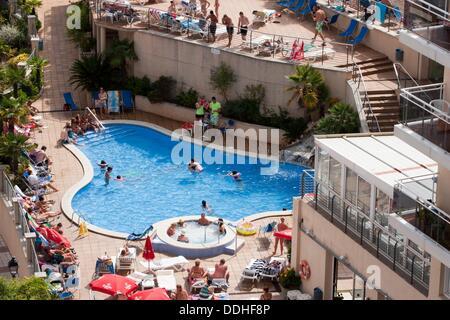Swimming Pool At W Barcelona Hotel Barcelona Catalonia Spain Stock Photo Royalty Free Image
