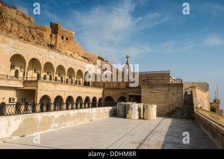 Syrian-Orthodox Mar Mattai monastery, St Matthew's Monastery - Stock Photo