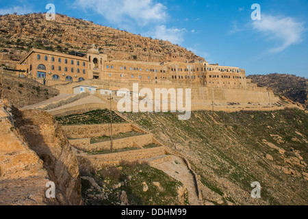 Syrian Orthodox Mar Mattai monastery, St Matthew's Monastery - Stock Photo