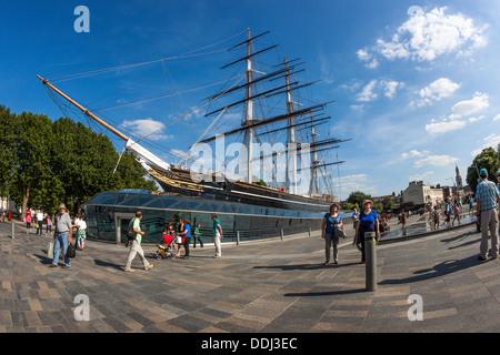 Cutty Sark, Greenwich - Stock Photo