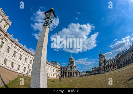 Old Royal Naval College Greenwich - Stock Photo