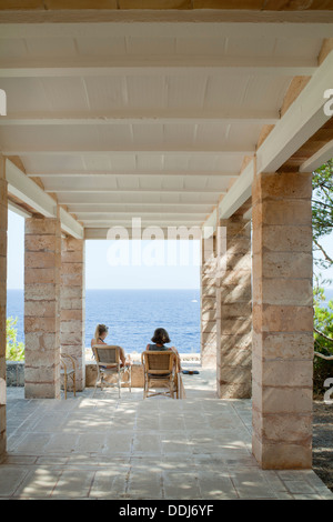 Can Lis, Mallorca, Spain. Architect: Utzon, Jorn, 1971. Main
