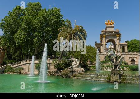 The Parc de la Ciutadella, Barcelona - Stock Photo