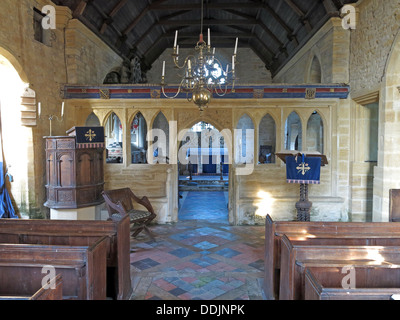 Chapel at Brympton d'Evercy, Yeovil, Somerset, England, UK - Stock Photo