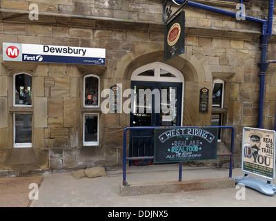 Dewsbury Railway Station - Stock Photo
