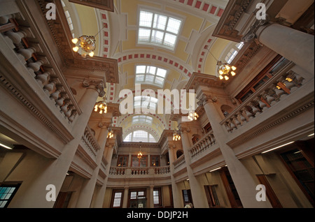 Liverpool central library Hornby rooms - Stock Photo