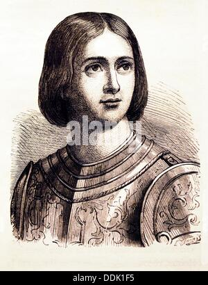 a biography of saint joan the roman catholic saint and heroine of france The play's protagonist is the 15-century french heroine joan of arc, who was  canonized by the roman catholic  history shaw's play premiered on  broadway in 1923 and was first produced in london the following year.