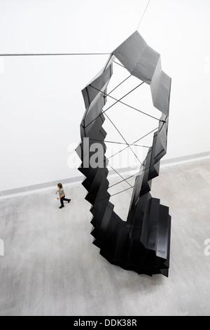 Exhibit by Katja Strunz at Berlinische Galerie art museum in Berlin Germany - Stock Photo