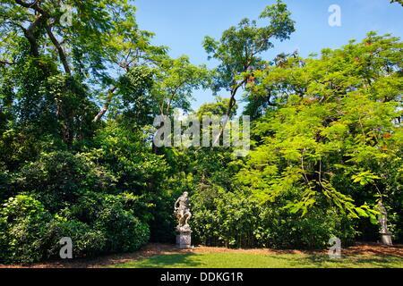 Vizcaya Museum and Gardens, Renaissance Italianate 1910  Biscayne Bay  Miami  Florida  USA - Stock Photo