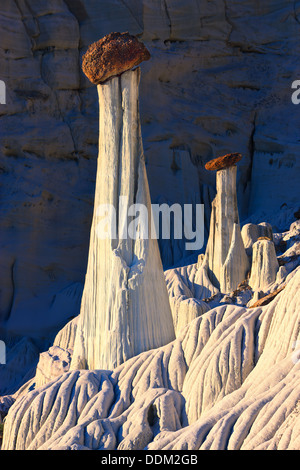 Wahweap Hoodoos at Sunrise. Grand Staircase-Escalante, National Monument - Stock Photo