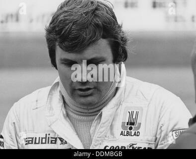 Alan Jones, 1980. - Stock Photo
