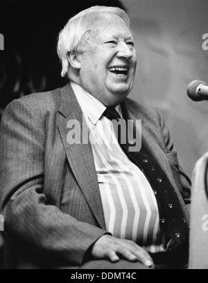 Sir Edward Heath (1916- ), British Prime Minister (1970-74), 1994. - Stock Photo