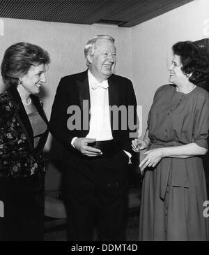 Sir Edward Heath (1916- ), British Prime Minister (1970-74). Artist: Unknown - Stock Photo